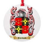 Fairbank Round Ornament