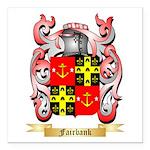 Fairbank Square Car Magnet 3