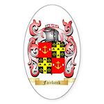 Fairbank Sticker (Oval 10 pk)