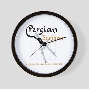 Persian Engineer Wall Clock
