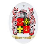 Fairbank Ornament (Oval)