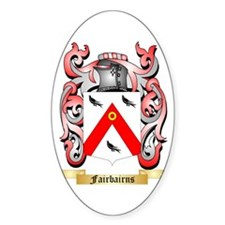Fairbairns Sticker (Oval)