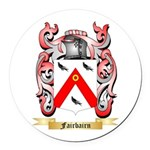 Fairbairn Round Car Magnet
