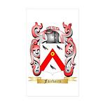 Fairbairn Sticker (Rectangle 10 pk)