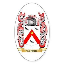 Fairbairn Sticker (Oval)