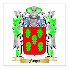 Faigin Square Car Magnet 3