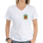 Faigenberg Women's V-Neck T-Shirt