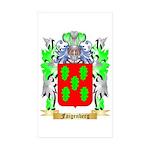 Faigenberg Sticker (Rectangle 50 pk)