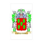 Faigenbaum Sticker (Rectangle 10 pk)