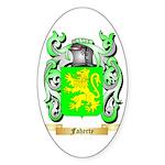 Faherty Sticker (Oval 10 pk)