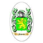 Faherty Sticker (Oval 50 pk)
