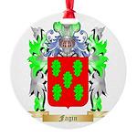 Fagin Round Ornament