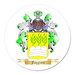 Faggioni Round Car Magnet