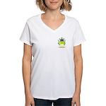 Faggioli Women's V-Neck T-Shirt