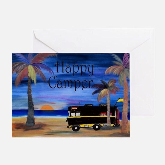 Happy RV Camper  Greeting Card