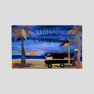 Happy RV Camper  3'x5' Area Rug