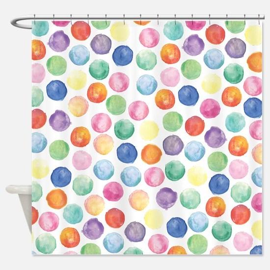 polka dot shower curtain - Design Decoration