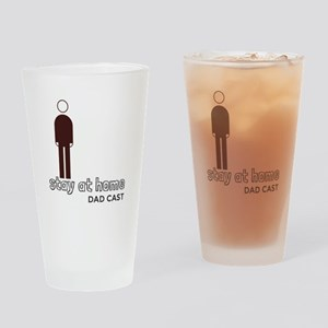 Stay at Home Dad Cast Logo Drinking Glass