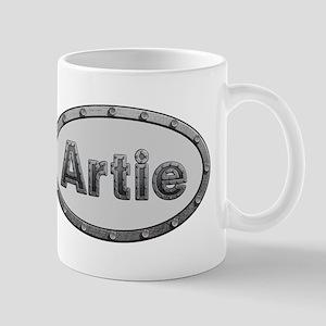 Artie Metal Oval Mugs