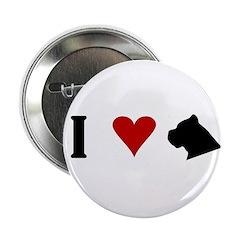 I Heart Cane Corso Button