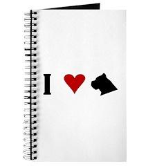 I Heart Cane Corso Journal