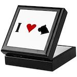 I Heart Cane Corso Keepsake Box