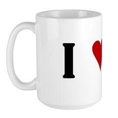 I Heart Cane Corso Large Mug