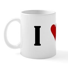 I Heart Cane Corso Mug