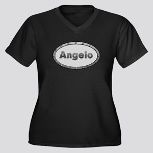 Angelo Metal Oval Plus Size T-Shirt