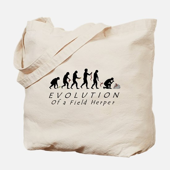 Evolution of a Field Herper Tote Bag