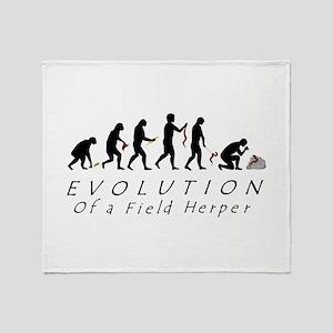 Evolution of a Field Herper Throw Blanket