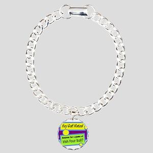 Irish Four Ball Golf Bracelet