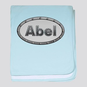 Abel Metal Oval baby blanket
