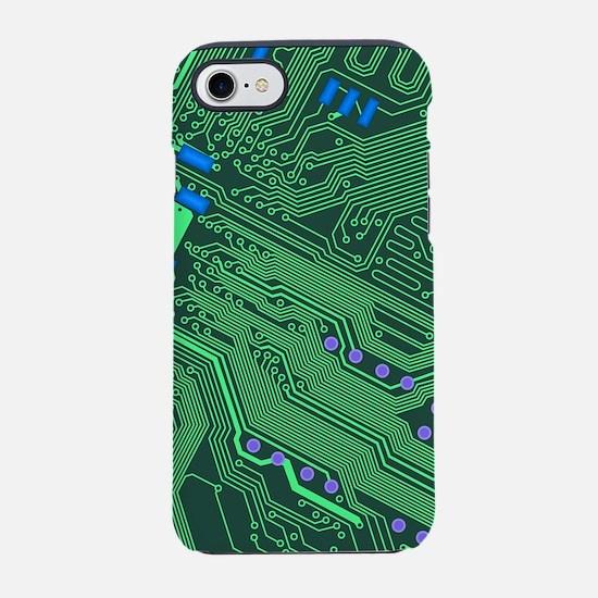 Circuit Board iPhone 7 Tough Case