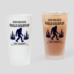 Hide and Seek World Champion Drinking Glass