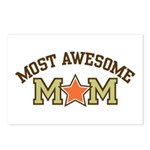 Most Awesome Mom Postcards (Package of 8)