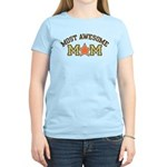 Most Awesome Mom Women's Light T-Shirt