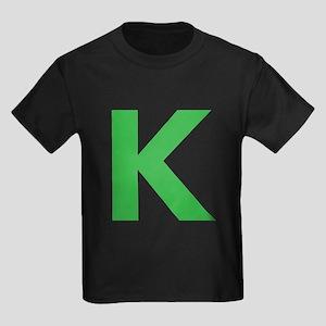 Letter K Green T-Shirt
