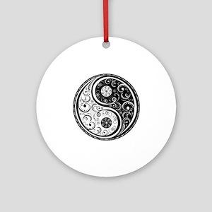 Yen Yang Art Design  Round Ornament