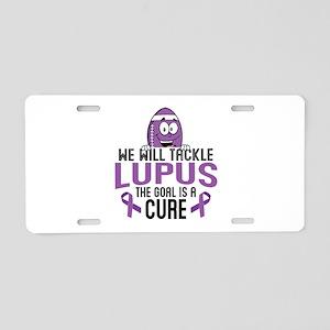 Tackle Lupus Aluminum License Plate