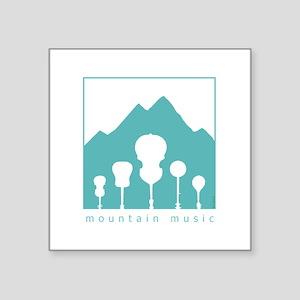 Mountain Music Sticker