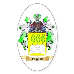 Faggiola Sticker (Oval 10 pk)