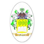 Faggio Sticker (Oval 10 pk)