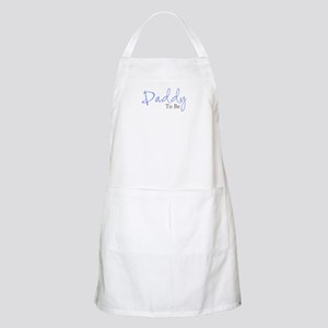 Daddy To Be (Blue Script) BBQ Apron