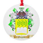 Faggini Round Ornament