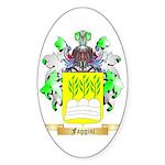 Faggini Sticker (Oval 50 pk)