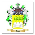 Faggi Square Car Magnet 3