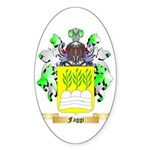 Faggi Sticker (Oval 10 pk)
