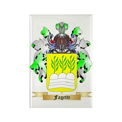 Fagette Rectangle Magnet (100 pack)