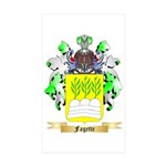 Fagette Sticker (Rectangle 50 pk)